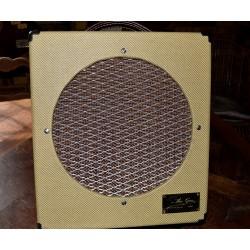 Ampli M 12 vue de devant avec protection du Haut parleur