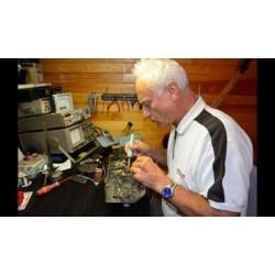Christian Yves Guen dans son labo